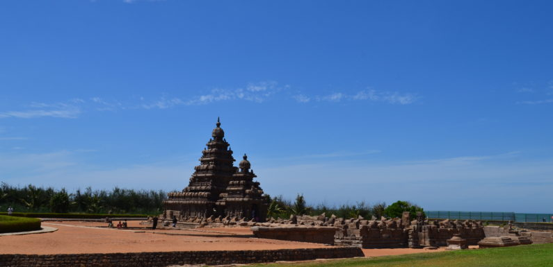 A temple town with hippie vibes: Mahabalipuram