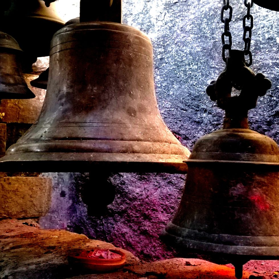 Bells at Kamakhaya temple in Guwahati, Assam, India