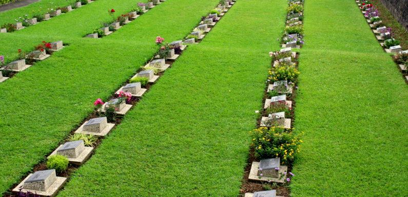 War Cemetery in Kohima, Nagaland