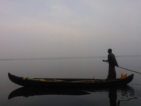 The lone fisherman… and me